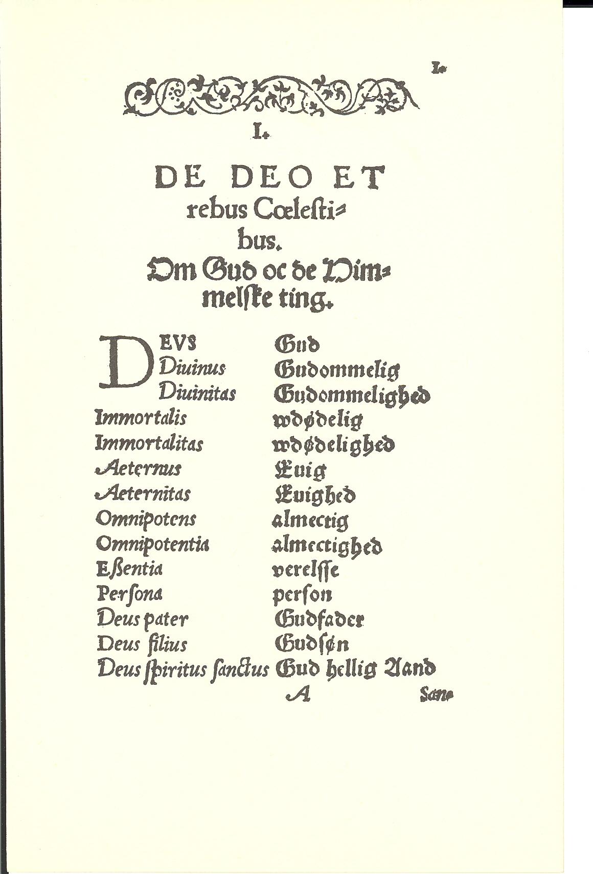 Tursen 1561, Side: 1